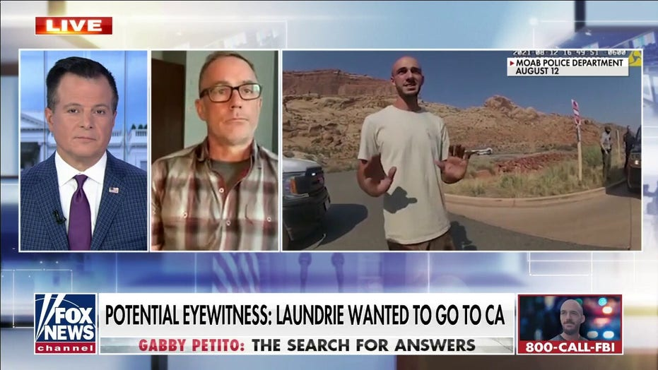 Brian Laundrie manhunt: Gabby Petito's parents say fugitive fiancé still alive, recall learning tragic news
