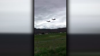 Canada Snowbirds team jet crashes in British Columbia