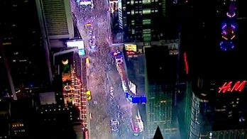 New Year's Eve in Times Square rings in 2021 without the party crowd