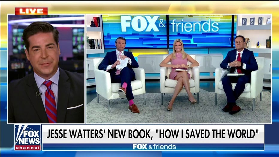 Jesse Watters' 'How I Saved the World' hits retailer to the delight of his most liberal fan: 'My mother cried'
