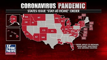 Coronavirus leaves 3 of 4 Americans under orders to stay at home as more states impose restrictions