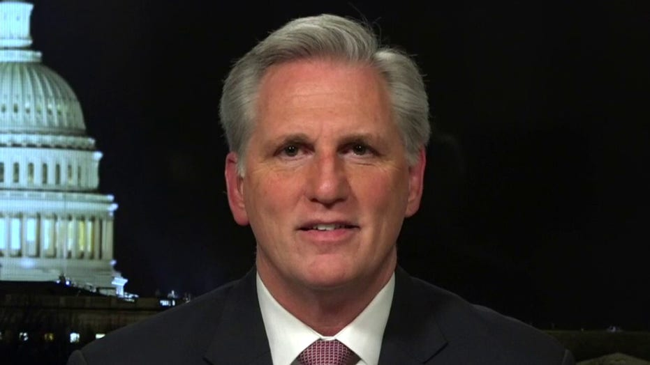 Rep. Kevin McCarthy on Nancy Pelosi taking credit for coronavirus stimulus package