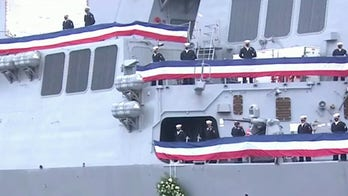 Navy honors USS Cole veterans on 20-year anniversary of terror attack