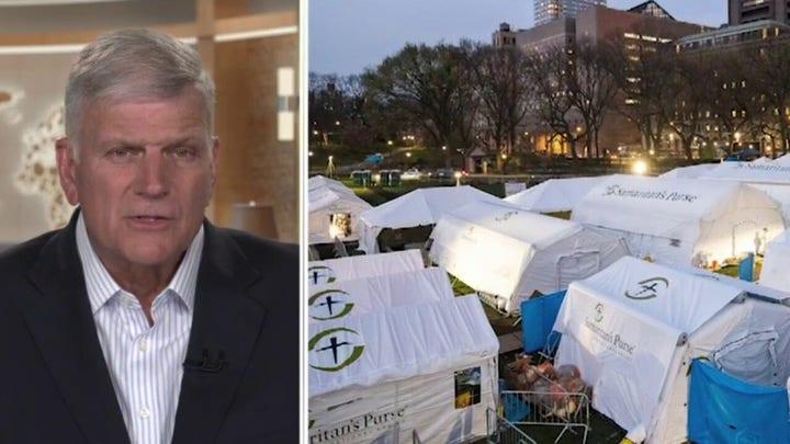 Trump praises work of Samaritan's Purse at front lines of New York's coronavirus crisis