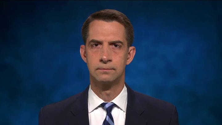 Su. Tom Cotton slams Biden's 'ill advised' and 'chaotic' withdrawal from Afghanistan