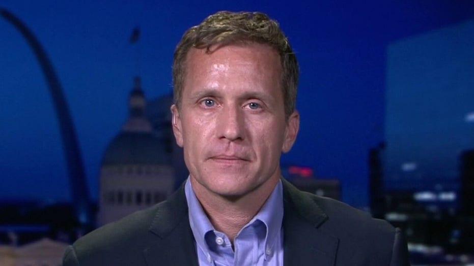 Former Missouri Gov. Eric Greitens: Throwing a brick through a window is not free speech