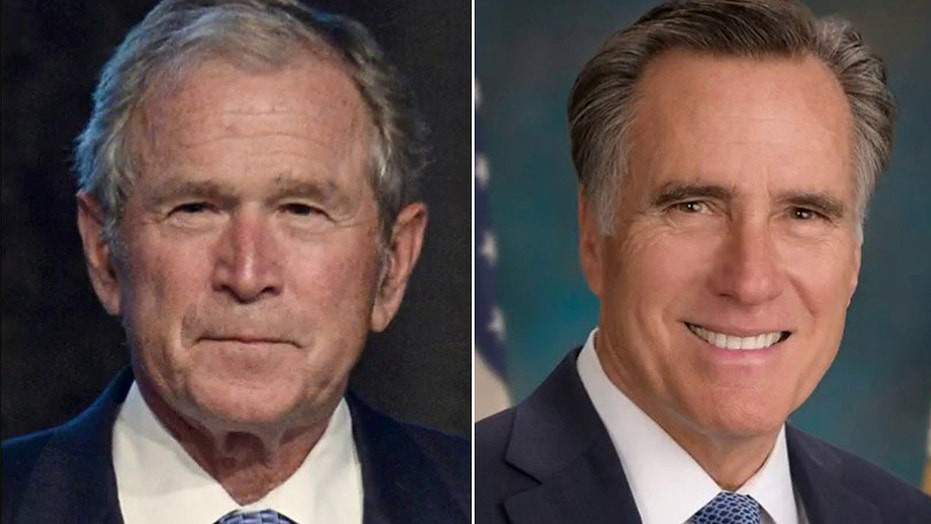 Bush, Romney say they won't support Trump for re-election