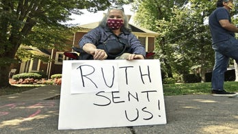 Protesters surround homes of top GOP leaders