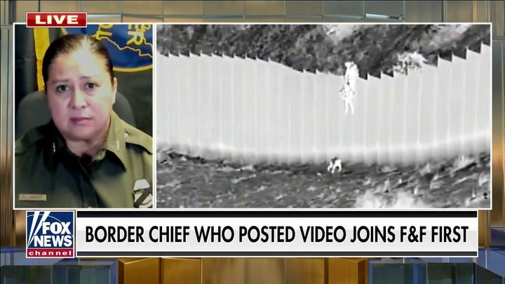 Border Patrol chief posts video of children dropped over border wall