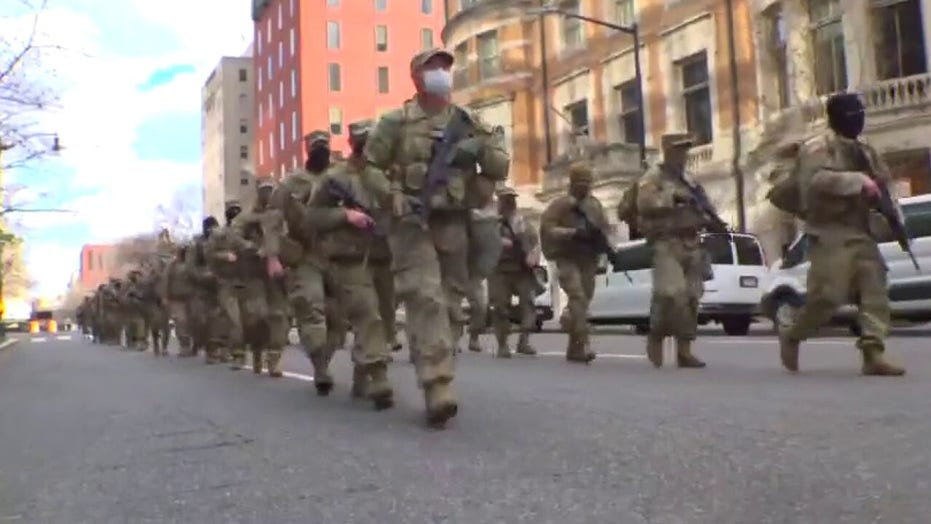 National Guard mulls keeping a few thousand troops in D.C. until March