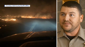 Deputy honored for saving lives during Utah wildfire