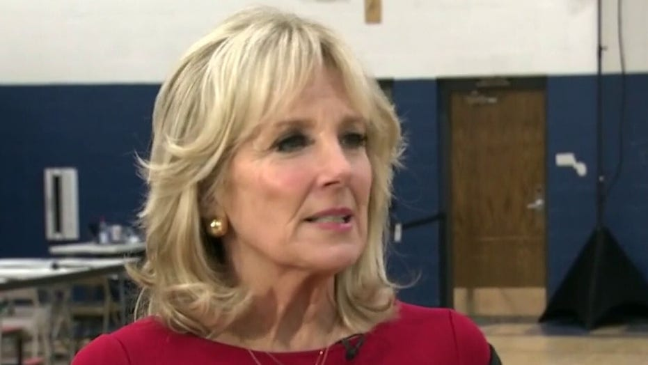 Dr. Jill Biden discusses life on the campaign trail, responding to political attacks