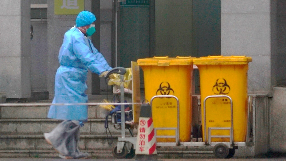 Chinese government ramps up coronavirus containment efforts