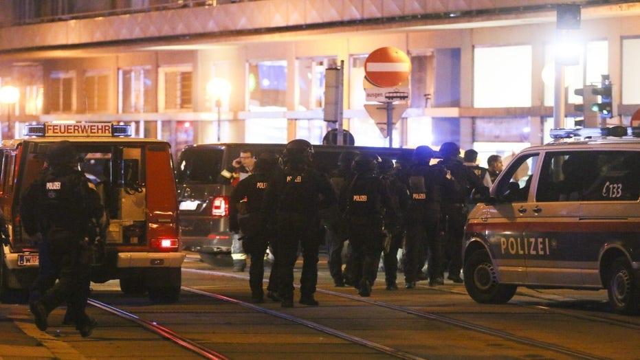 Vienna officials call shooting in city center 'terrorist incident'