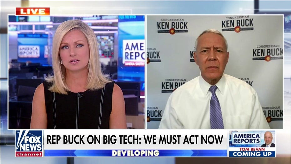 Rep. Buck urges GOP to back Big Tech antitrust bills: 'Time that consumers had a voice'