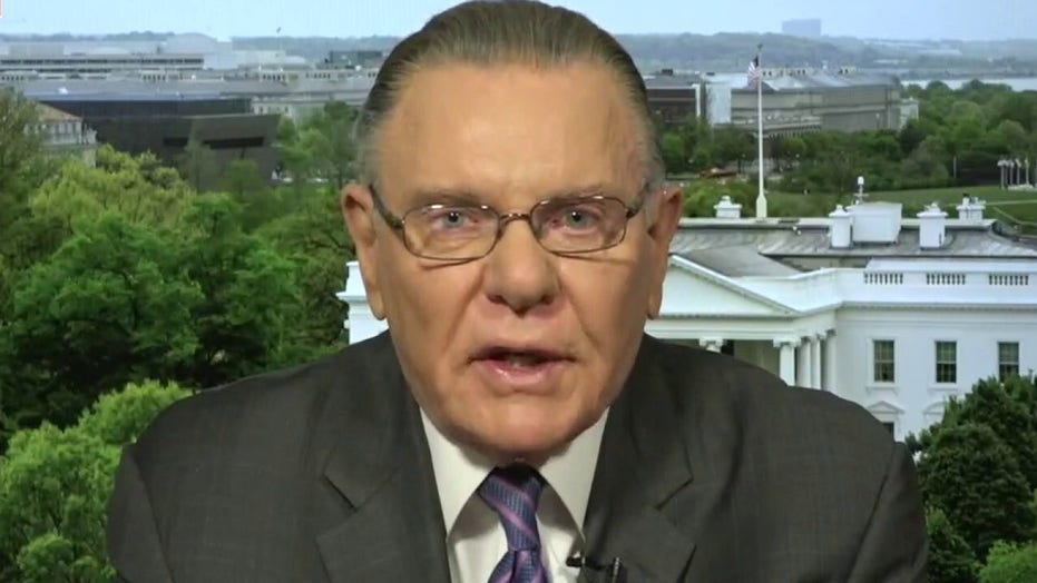 Gen. Keane: 'Reckless' for Biden to go back to Iran nuclear deal after Hamas attacks on Israel