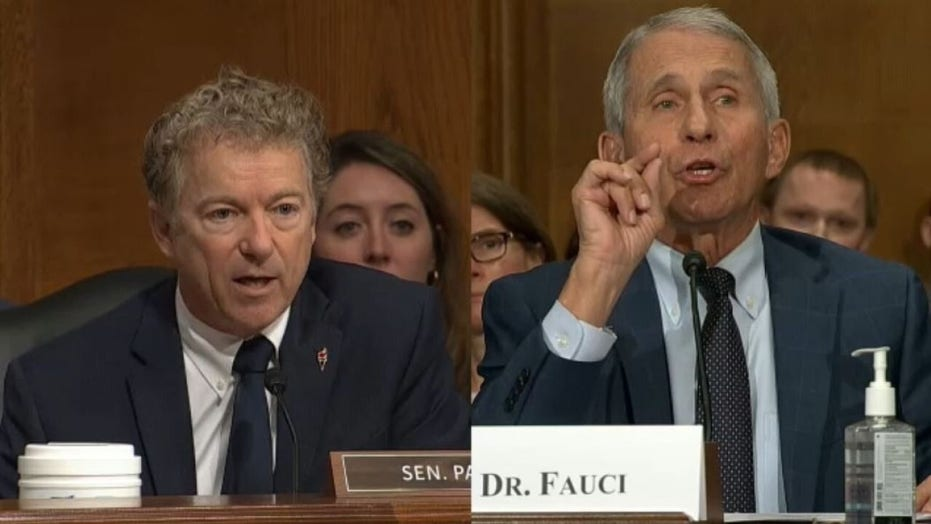 Rand Paul grilled Fauci in heated exchange over COVID origins
