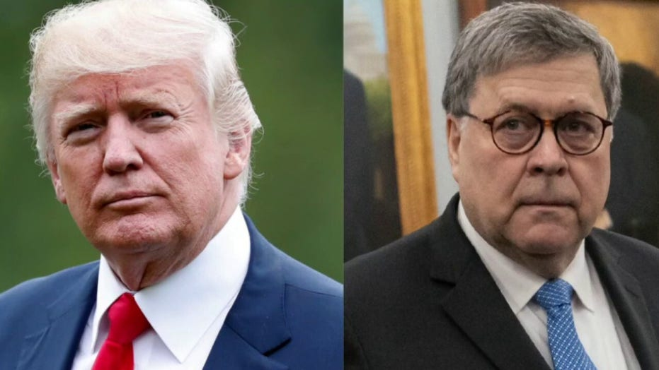 White House responds to Attorney General Barr's concerns with Trump tweets