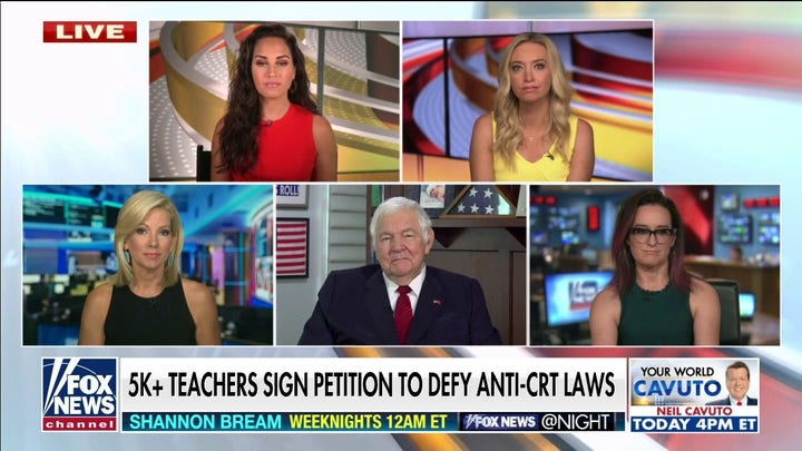 'Outnumbered' calls out largest teachers union for endorsing critical race theory