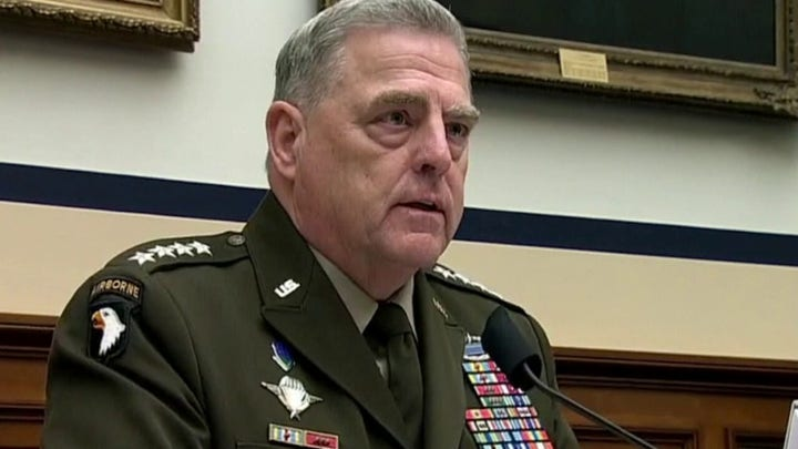 Gen. Milley grilled over Woodward book claims during Senate testimony