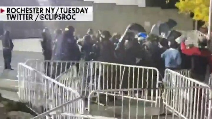 3 police officers in Rochester attacked after protesters storm public safety building