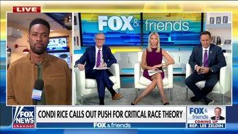 Lawrence Jones has breakfast in Virginia, talks critical race theory