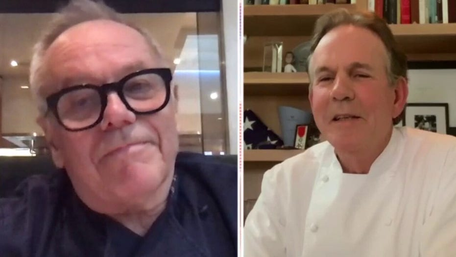 Wolfgang Puck and Thomas Keller warn that restaurants across America are on the brink of collapse