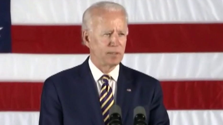 Joe Biden weighs potential running mates