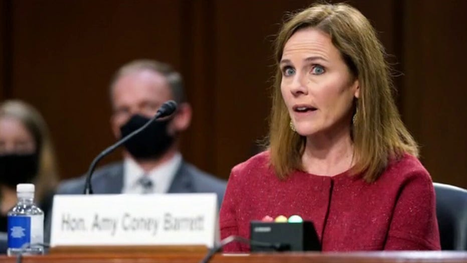 McConnell sets Amy Coney Barrett confirmation vote for next week