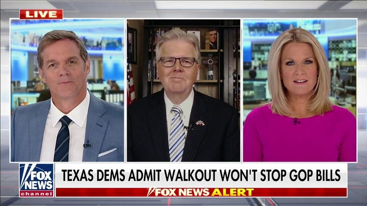 Dan Patrick: Texas Dems can't hold out forever