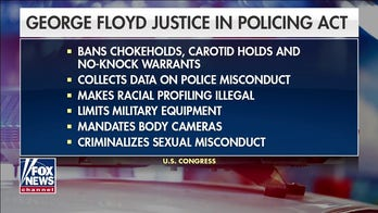 Democrats push for passing of George Floyd Justice in Policing Act