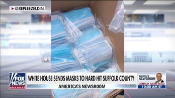 White House sends masks to Suffolk County as COVID-19 cases spike on Long Island