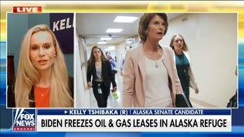 Alaska Senate candidate slams Lisa Murkowski for 'enabling' Biden's 'radical environmental extremism agenda'