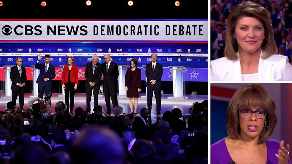 CBS moderators Norah O'Donnell, Gayle King slammed for 'losing control' of Democratic debate