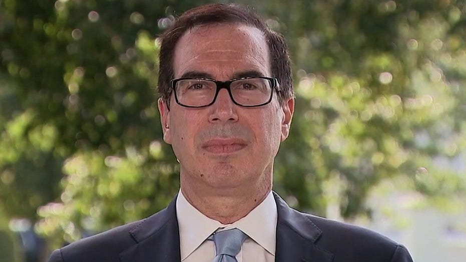 Sec. Steve Mnuchin: Democrats are holding up benefits to hardworking Americans