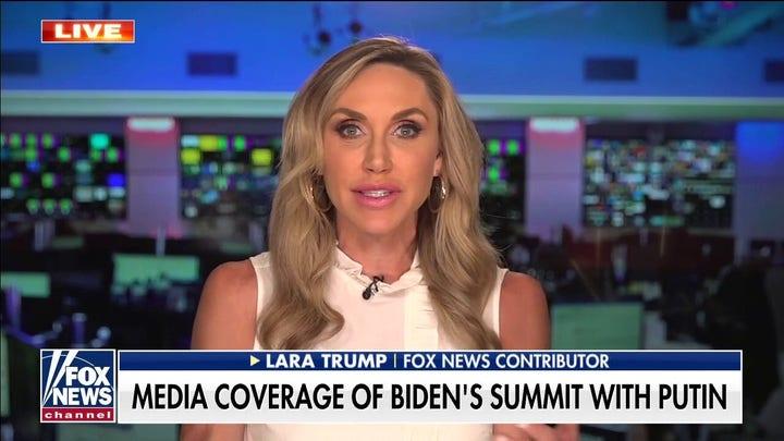 ララ・トランプ: Biden 'clearly cannot handle' unscripted questions from reporters