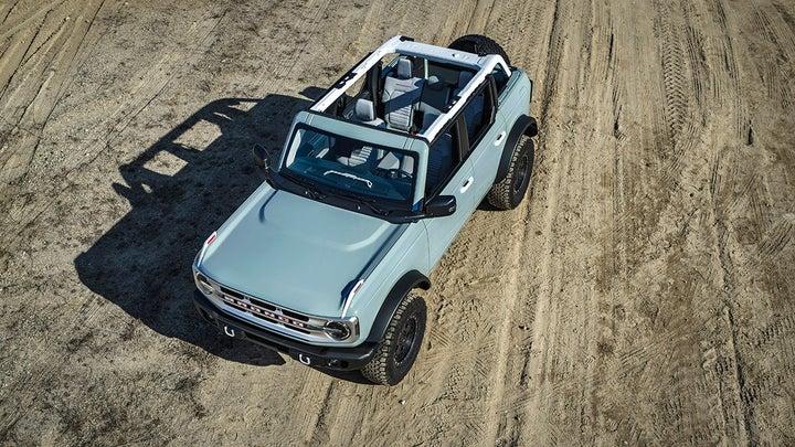 2021 Ford Bronco revealed