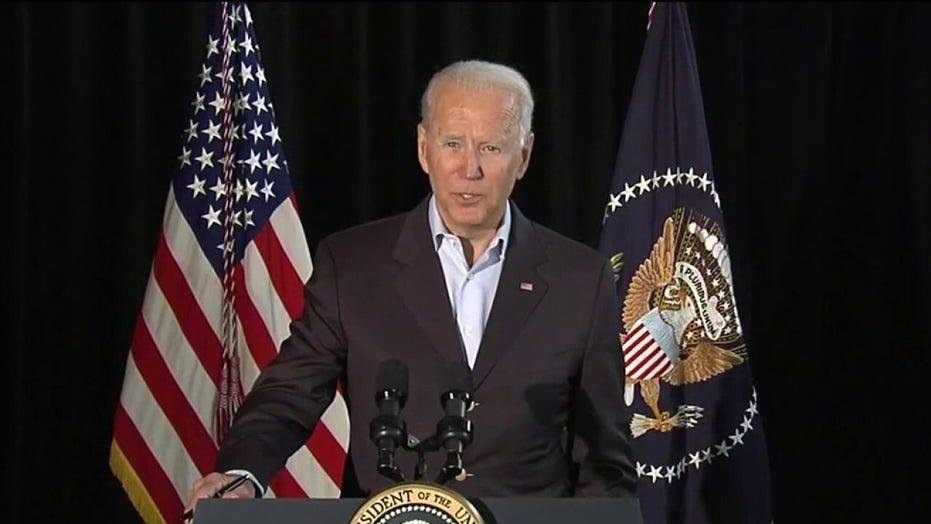 President Biden visits Surfside, Florida after condo collapse