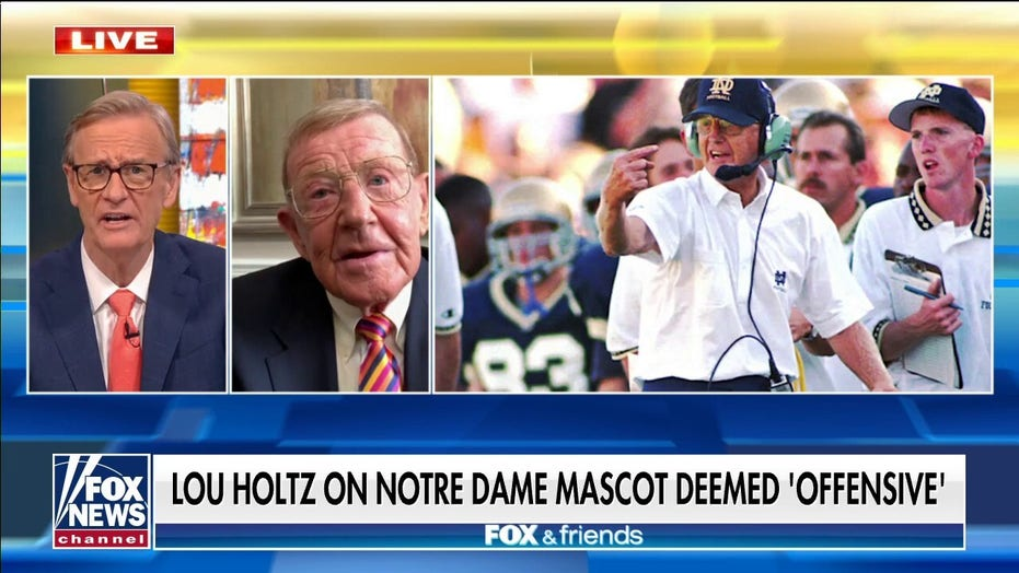 Ex-Notre Dame coach Lou Holtz slams survey after Fighting Irish deemed 'offensive'