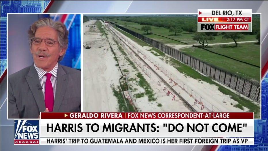 Geraldo blasts Biden's border policy as Harris visits Guatemala: 'catastrophic domestic policy failure'