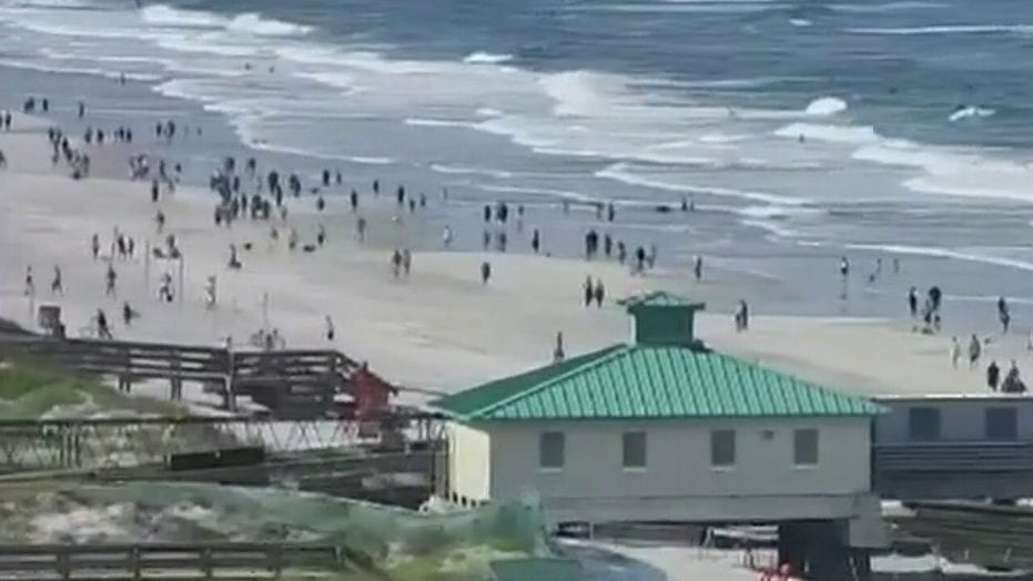 Beaches in Jacksonville, Florida reopen with restrictions