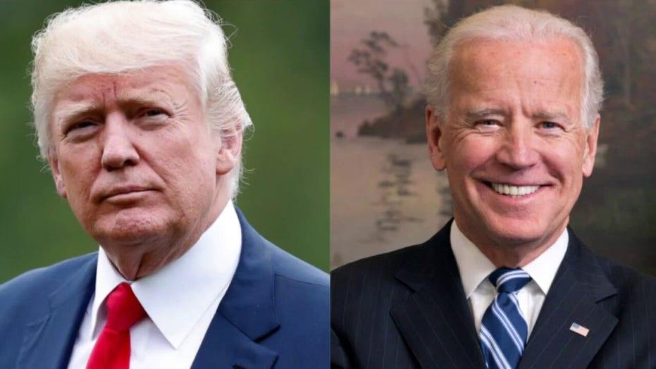 President Trump paints Joe Biden as a radical far-left candidate