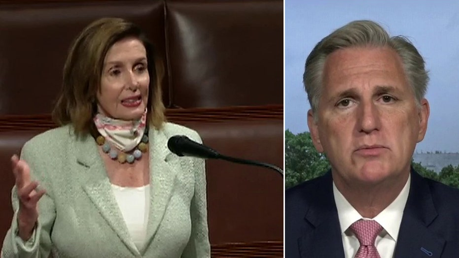 Kevin McCarthy: Pelosi is endangering Constitution to ensure she has more power