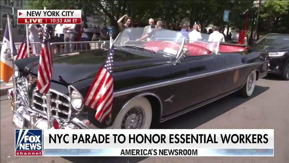 Parade honoring essential workers to be 'one of largest' in New York City's history