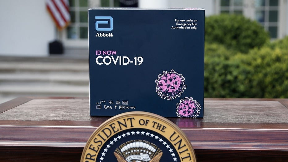Trump unveils new rapid coronavirus test kit that gives results in 5 minutes