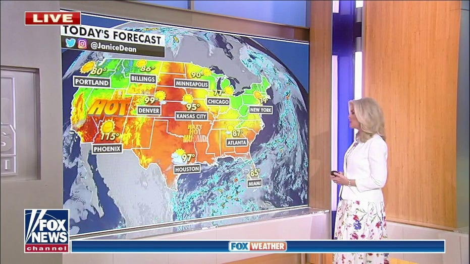 National weather forecast: Heat warnings, advisories widespread across West
