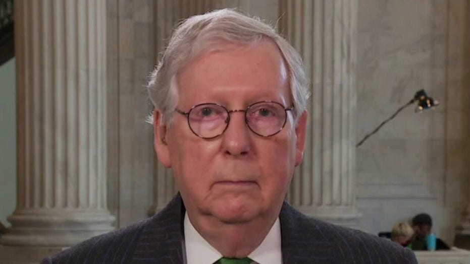 McConnell again slams Biden as a leftist: 'Bernie Sanders is really happy'
