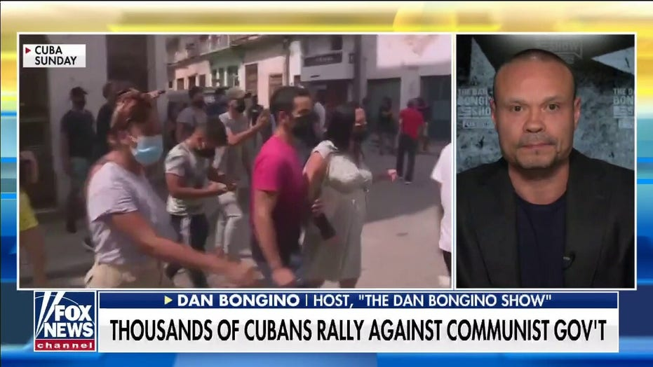 Bongino: NY Times tweet on Cubans wanting freedom 'sums up' the left-right ideological divide in America