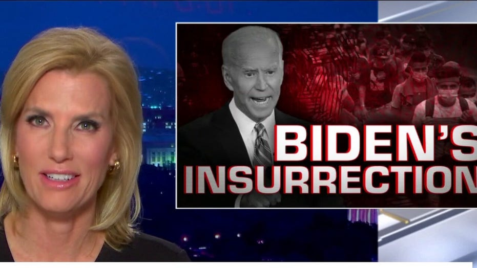 Ingraham: Biden is 'figurehead' of left-wing insurrection against America in 'deepest depths' of 'DC swamp'