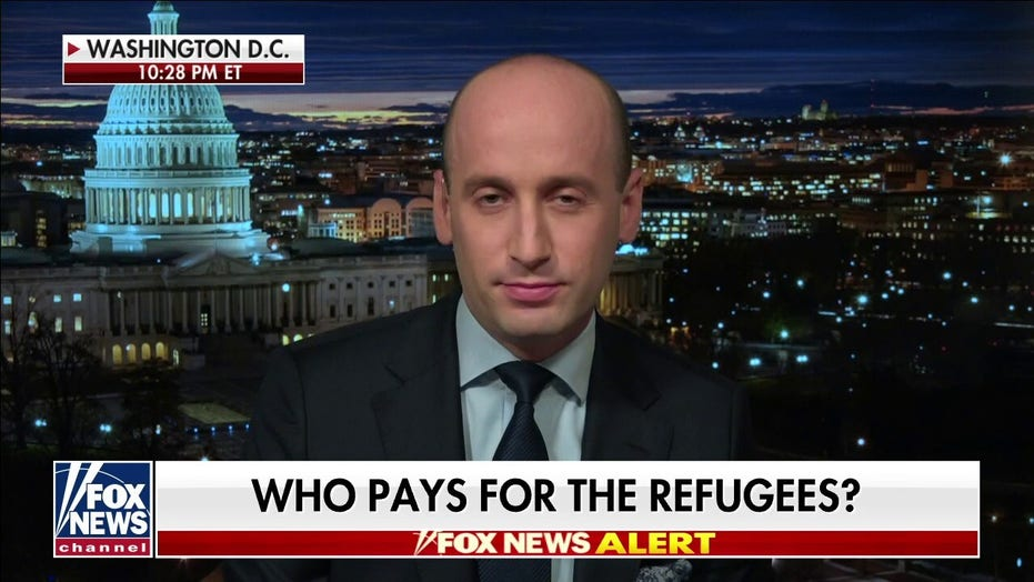 Stephen Miller: Afghanistan resettlements driven by politics, not humanitarian concerns